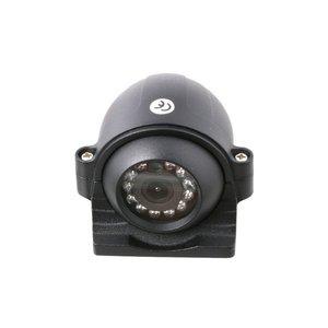 Professioneel 9 inch HD Quad View Achteruitrijcamera-systeem met verwarmde camera 's