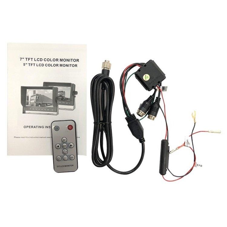 ARC Professioneel 7 inch HD Achteruitrijcamera-systeem met Truck en Trailerset