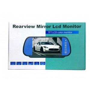Spiegel met monitor