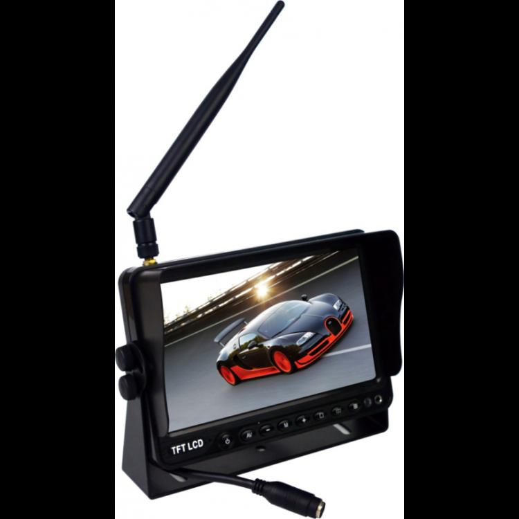 ARC Digitaal draadloos 7 inch achteruitrijcamera systeem met 2 achteruitrijcamera 's