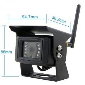 Digitaal draadloos 7 inch achteruitrijcamera systeem met 2 achteruitrijcamera 's