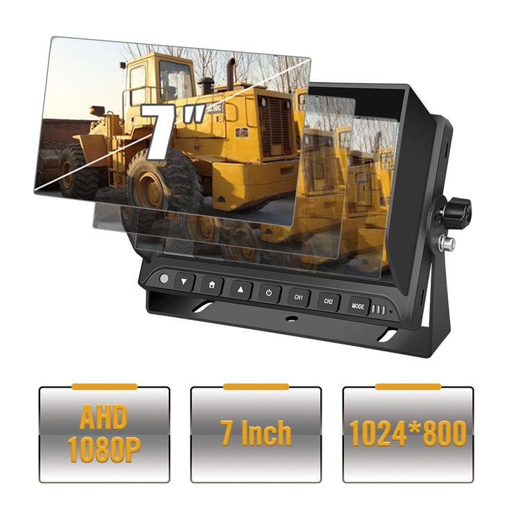 ARC Professioneel 7 inch HD Achteruitrijcamera-systeem met kleuren-nachtzicht