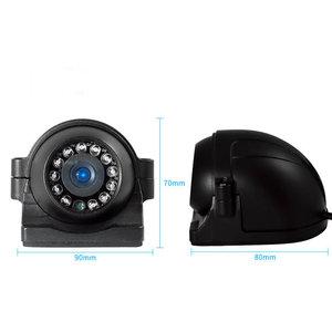 ARC Professioneel 9 inch HD Quad View Achteruitrijcamera-systeem met verwarmde camera 's
