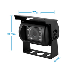 ARC Professioneel 7 inch Quadview HD systeem met 2 Verwarmde Achteruitrijcamera 's en Truck en Trailerset
