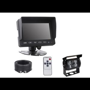 ARC Professioneel 5 inch HD Achteruitrijcamera-systeem met verwarmde camera