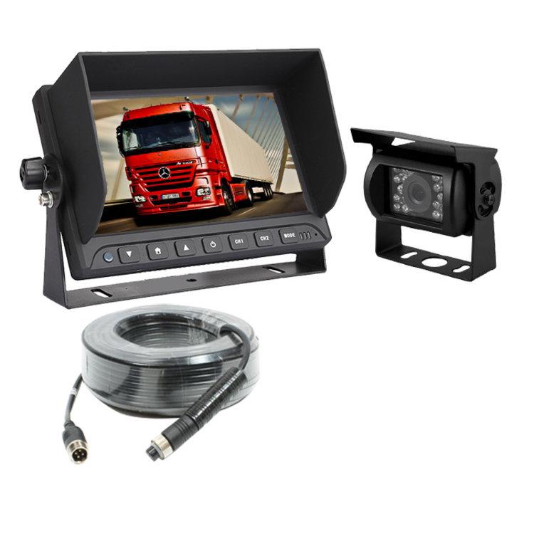 ARC Professioneel 9 inch HD Achteruitrijcamera-systeem verwarmd+geluid