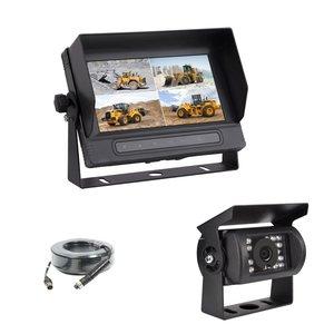 ARC 7 inch AHD Quad systeem waterdichte monitor - 4 camera 's