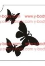 Ybody Three butterflies