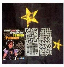 Graffiti Eyes Fashion Patterns Booster Stencils