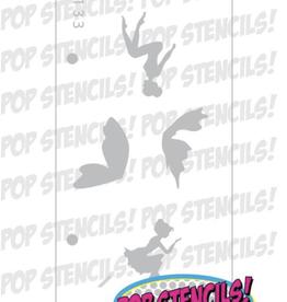 PopStencils 133 PopStencils Fairy Bodies