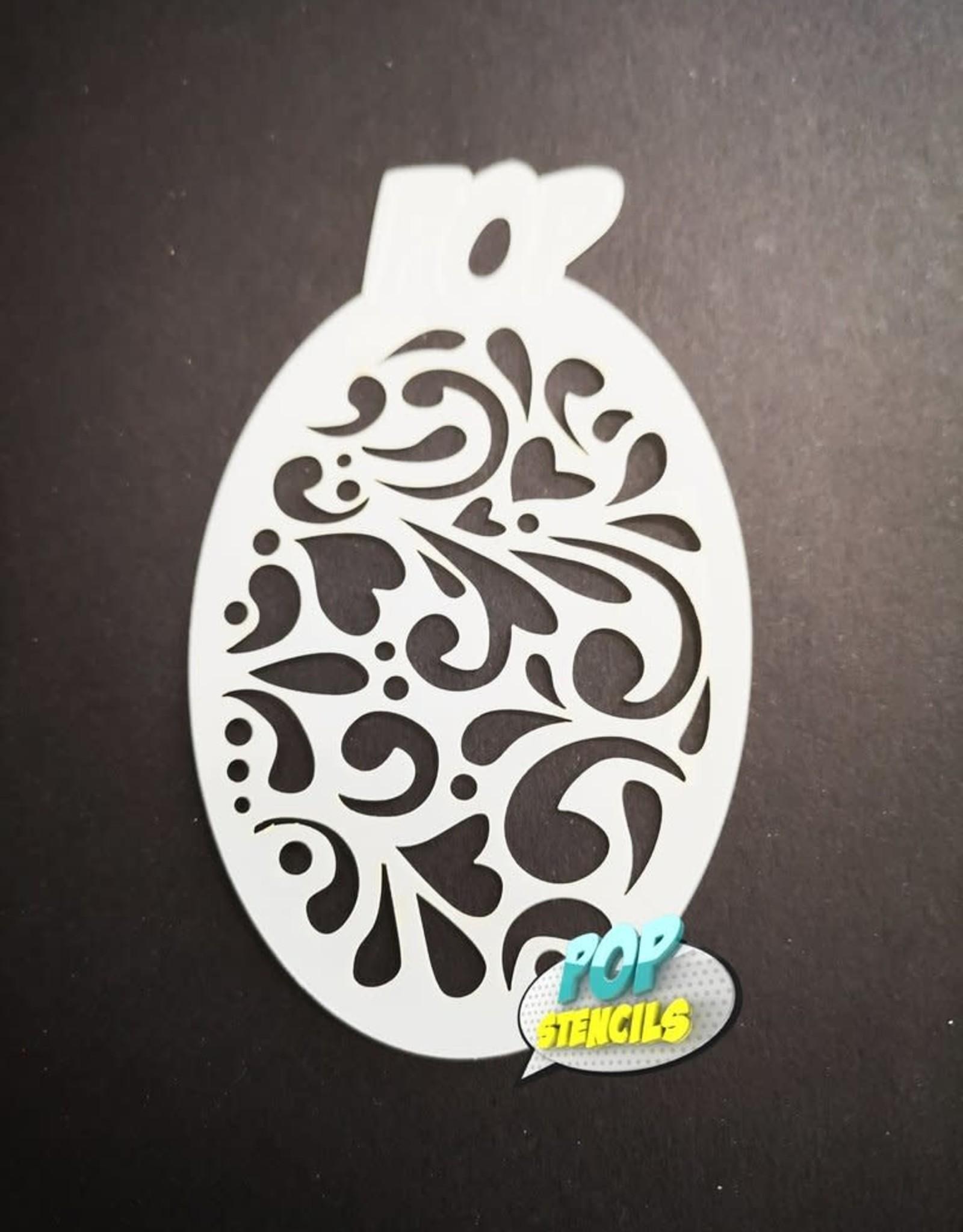 PopStencils PopStencils Mini Swirls #96