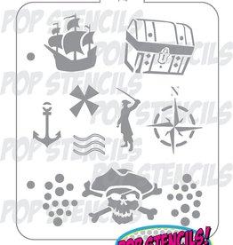 PopStencils PopStencils Pirate