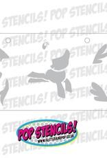 PopStencils PopStencils Pony Stencil