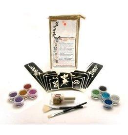 Ybody Big Party Kit - Tatouages à paillettes