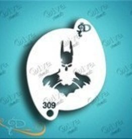 DivaStencils 309 Diva Stencil Batman