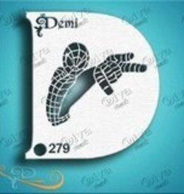 DivaStencils 279 Diva Stencil demi Spiderguy