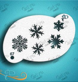DivaStencils 67 Diva Stencil Snowflakes 5