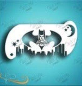 DivaStencils 127 Diva Stencil Forehead Band Batman