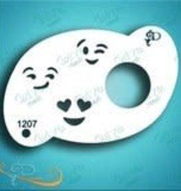 DivaStencils 1207 Diva Stencil Emoji