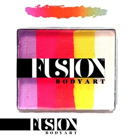 Fusion Body Art FX RAINBOW CAKE - CARIBBEAN SUNSET 50g