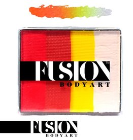 Fusion Body Art FX RAINBOW CAKE - GLOWING TIGER 50g