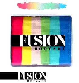 Fusion Body Art FX RAINBOW CAKE - MERMAID TALE 50g