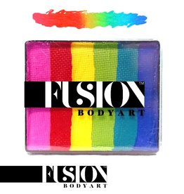 Fusion Body Art RAINBOW CAKE - BRIGHT RAINBOW 50g