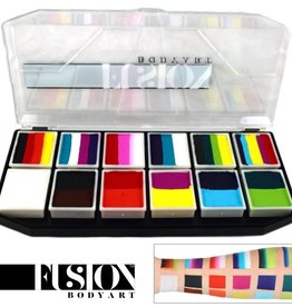 Fusion Body Art SPECTRUM PALETTE -  CARNIVAL KIT