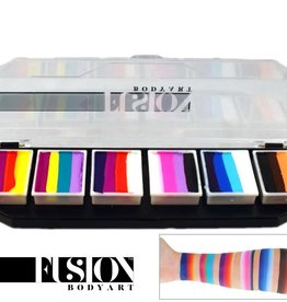 Fusion Body Art SPECTRUM PALETTE - RAINBOW SPLASH