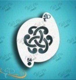 DivaStencils 54 Diva Stencil Celtic Knot #3