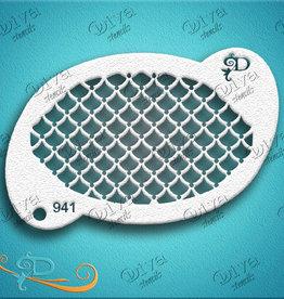 DivaStencils 941 Diva Pretty Scales
