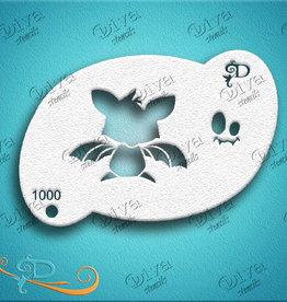 DivaStencils 1000 Diva Tamina Bat