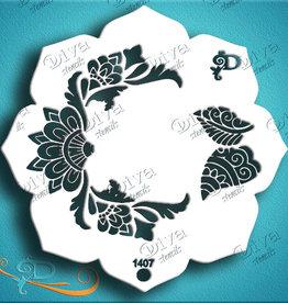 DivaStencils 1407 Diva Eye Candy Henna