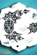 DivaStencils 1405 Eye Candy Spiderman
