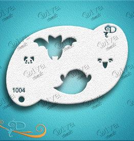 DivaStencils 1004 Diva Stencil Kawaii Bat n Ghost