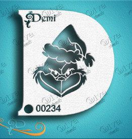 DivaStencils 234 Demi Grinch