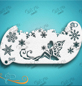 DivaStencils 945 Forehead Band Snow Fairy