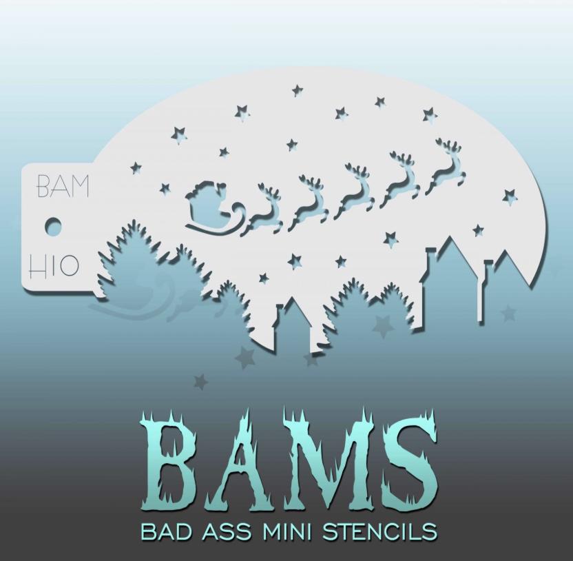 Bad Ass Stencils mini-pochoir