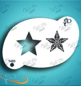 DivaStencils 1480 Damask Star