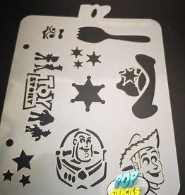 PopStencils Popstencils 330 Toy Story Graffiti