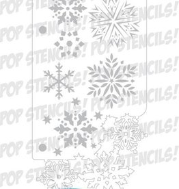 PopStencils Popstencils Snowflake frenzy