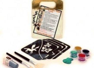 Kit - Paillettes et tatouages éphémères