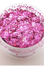 The Facepainting Shop Chunky Cosmetic Glitter Holographic Magenta