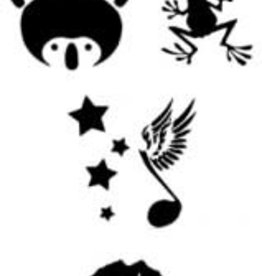 MikimFX MikimFX Herbruikbare stencils SET2