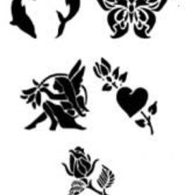 MikimFX MikimFX Herbruikbare stencils SET3