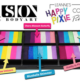 Fusion Body Art Leanne's Happy Pixie - Petal Palette