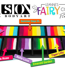 Fusion Body Art Leanne's Fairy Collection Petal Palette FX