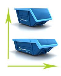 container afmetingen