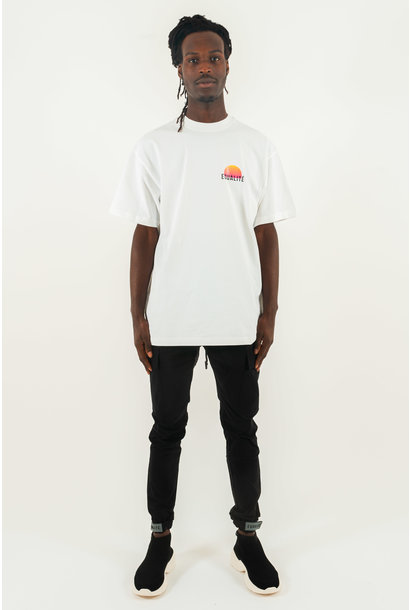 VISION OVERSIZED TEE WHITE