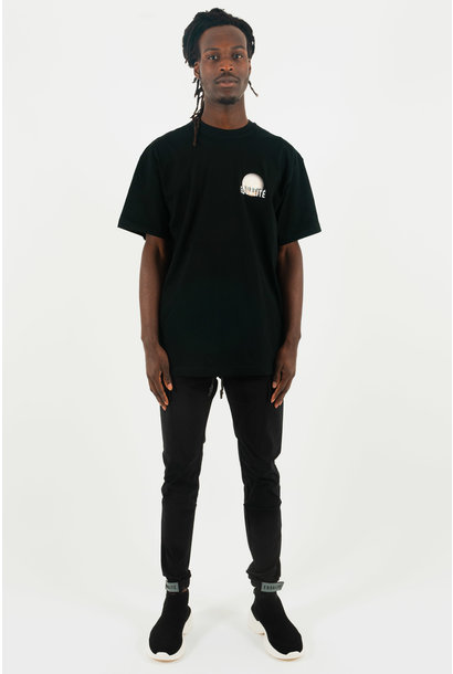CONNECTED CITY OVERSIZED TEE BLACK